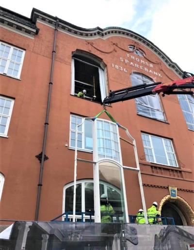 Utskifting av vinduer